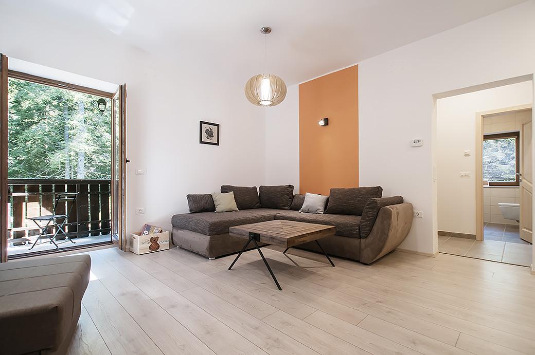 Bear - living room