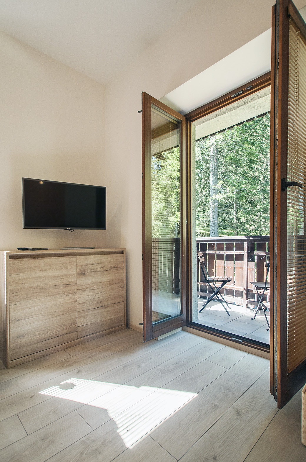 Bear - living room, terrace