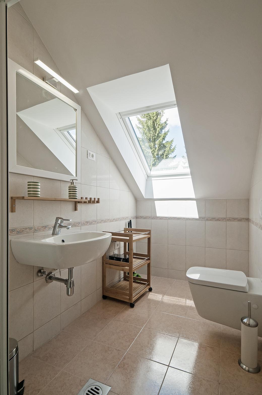 Deer - bathroom